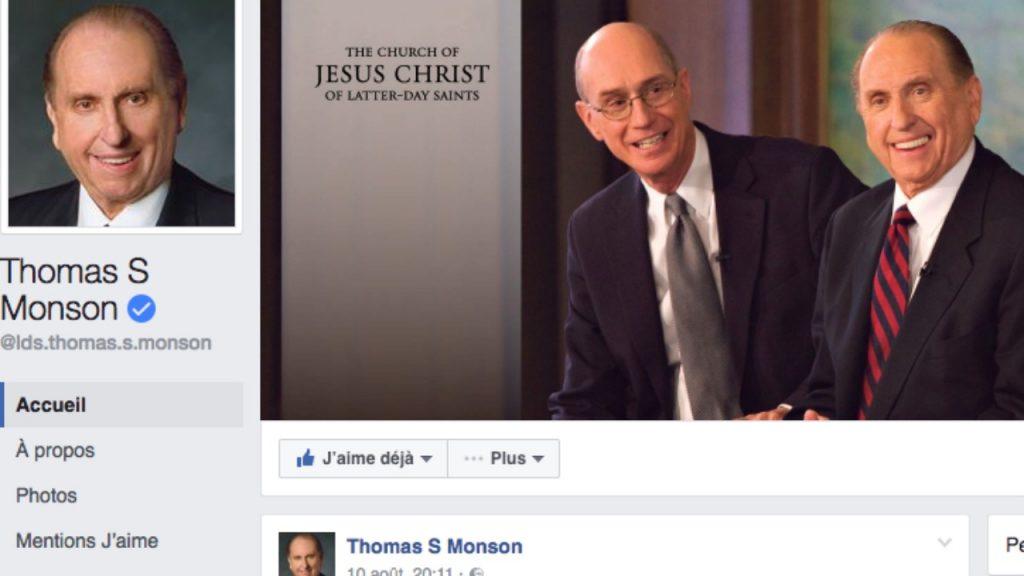 page facebook autorités générales