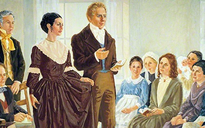 Les femmes mormones viennent en aide aux pauvres et aux nécessiteux